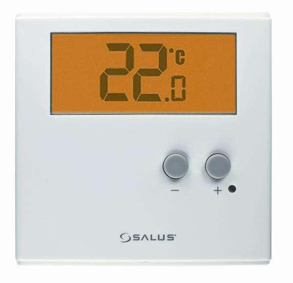 salus dobowy cyfrowy termostat ert30 q8 5668503786. Black Bedroom Furniture Sets. Home Design Ideas